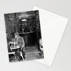 At the Cafe Stationery Cards