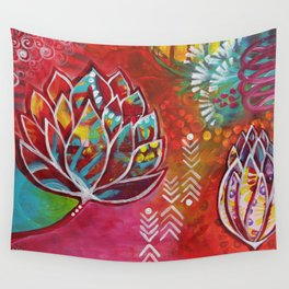 Blooming Beauty Wall Tapestry