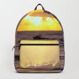 Golden Lining Backpack
