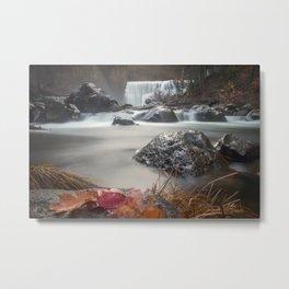 Fall at Middle Falls Metal Print