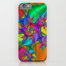 Explosion in a paint factory! iPhone 6s Slim Case