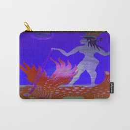 Intra -dimensional Ishtar  Carry-All Pouch