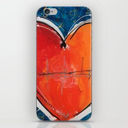 Go with you heart iPhone Skin