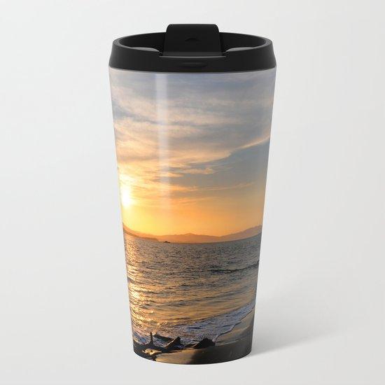 Sunset at Puntarenas Metal Travel Mug