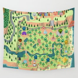 Animal Crossing (どうぶつの 森) Wall Tapestry