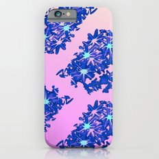 coral / floral iPhone 6s Slim Case