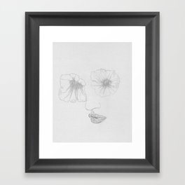 What Your Eyes Don't See Framed Art Print