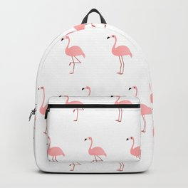 Pink Flamingos Backpack