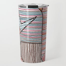 Bridget Riley Travel Mug