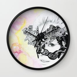 Lily - the leading lover Wall Clock