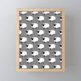 The Flock Framed Mini Art Print