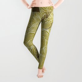 grandma's garden Leggings