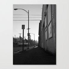 Urban morning Canvas Print