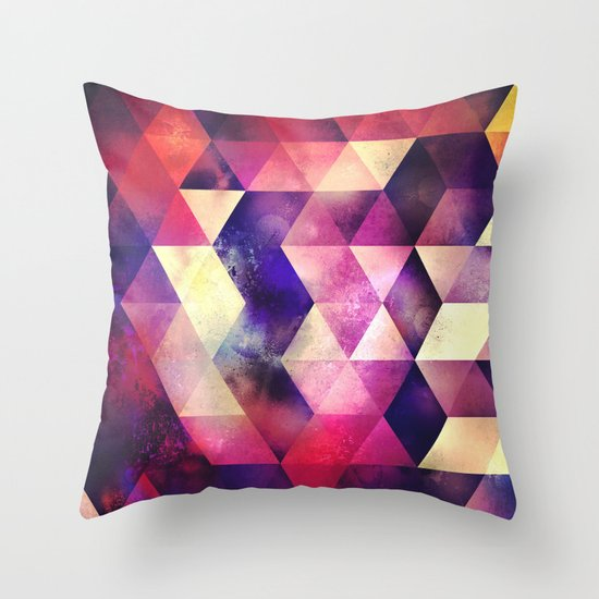 cynnt tyll Throw Pillow