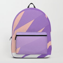 abstract digital gradient 0537 Backpack