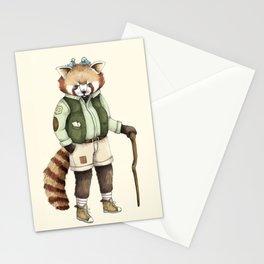 Red Panda Ranger Stationery Cards