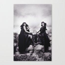 Black Witches Sabbath II  Canvas Print