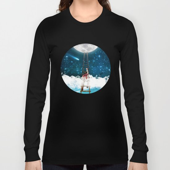 Reach for the Moon v2 Long Sleeve T-shirt