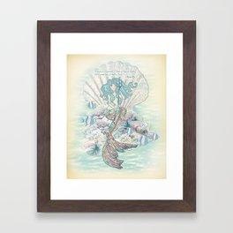 Anais Nin Mermaid [vintage inspired] Art Print Framed Art Print