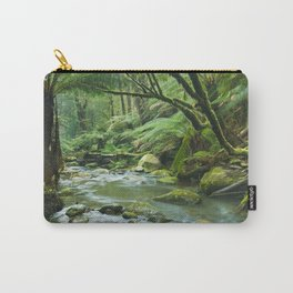 River through lush rainforest in Great Otway NP, Victoria, Australia Carry-All Pouch
