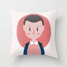 Stranger Things Eleven Throw Pillow