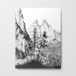 Two pines Metal Print
