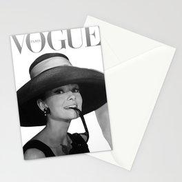 Audrey Hepburn Art Stationery Cards