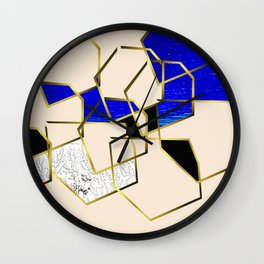 LOOKING AT THE SEA AND MY LOVE. WALKING IN PURSUIT OF PEACE. Wall Clock