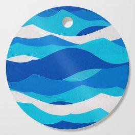 Waves Cutting Board