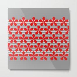 crvena Metal Print