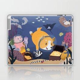 Diving For Treasure! Laptop & iPad Skin
