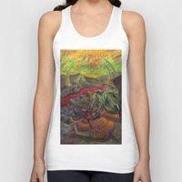 nietzsche Tank Tops featuring and again and again nietzsche by hankhenry