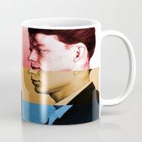 frank sinatra Mugs featuring Classic Frank Sinatra  by Brandon Minieri