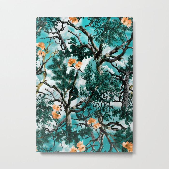 Natural Camouflage Metal Print