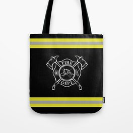 Firefighter Home Tote Bag