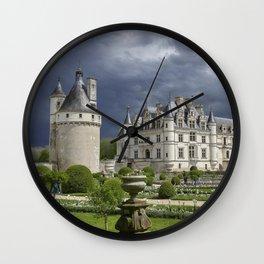 Chateau de Chenonceaux Wall Clock