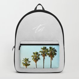 Four Palm Trees Backpack