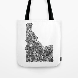 Idaho Doodle Tote Bag
