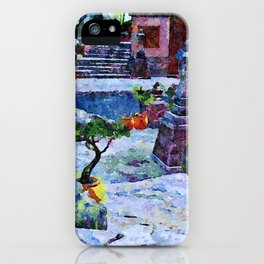 Oriental Lane iPhone Case