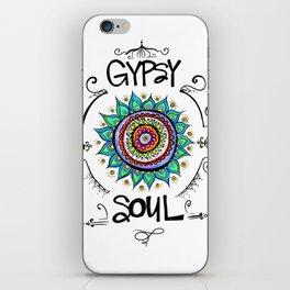 Gypsy Soul iPhone Skin