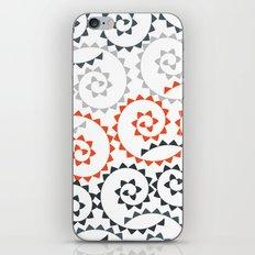 Orange Gradient Swirls iPhone & iPod Skin