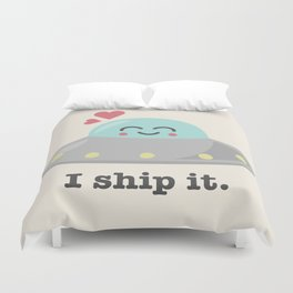 i ship it. Duvet Cover