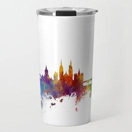 Basel Switzerland Skyline Travel Mug