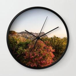 View on Ischia Island Wall Clock
