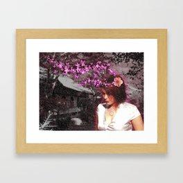 Frozen Spring Framed Art Print