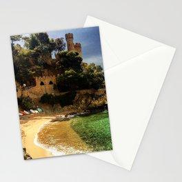 castell de sant joan Stationery Cards
