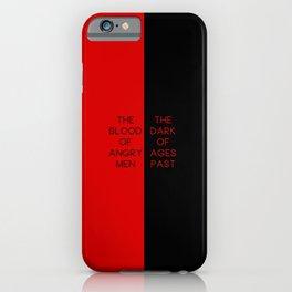 Red & Black - Les Mis iPhone Case