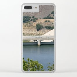 Bradbruy Dam Clear iPhone Case