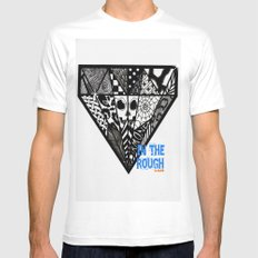 Diamond In The Rough Mens Fitted Tee White MEDIUM