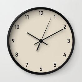 Clock numbers bone 2 Wall Clock